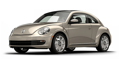 New Volkswagen Beetle at Rochester